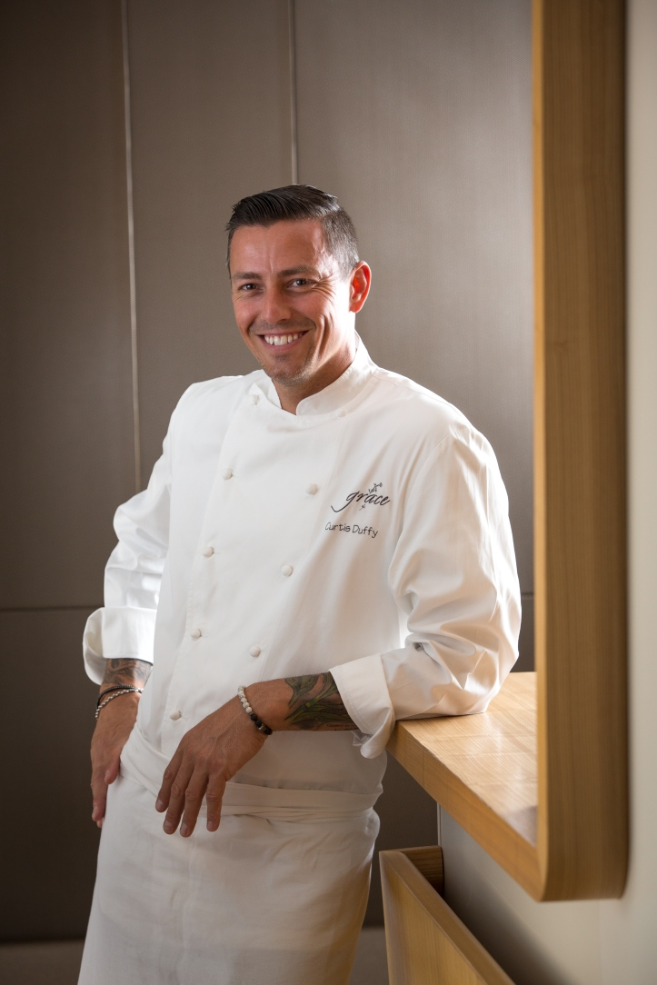 Chef Curtis Duffy of Grace, three MICHELIN stars, Chicago