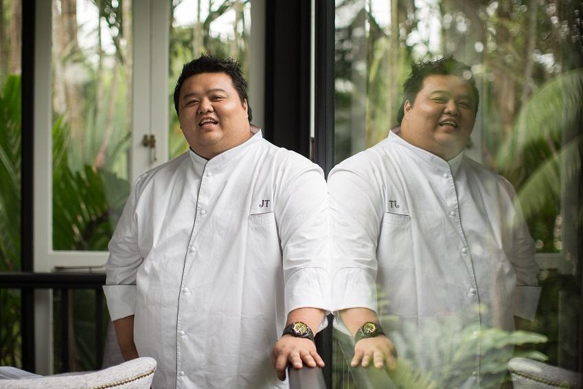 Chef Jason Tan of Corner House, one MICHELIN star, Singapore