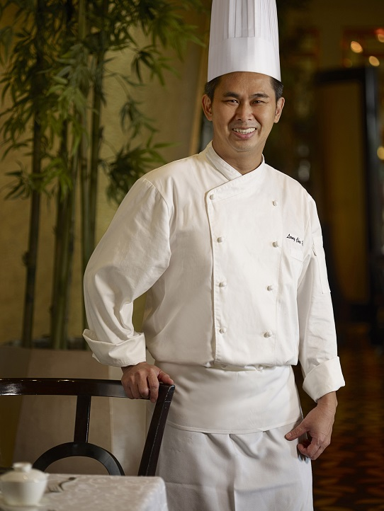 chef Leong Chee Yeng of Jade Restaurant, The Fullerton Hotel