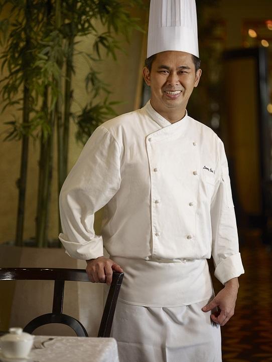 chef Leong Chee Yeng of Jade Restaurant, The Fullerton Hotel