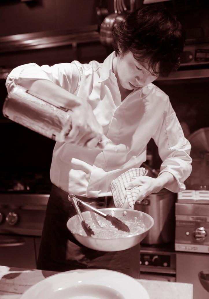 Chef Seita Nakahara of Terra, one MICHELIN star, Singapore