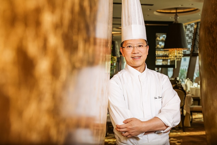 Chef Tam Kwok Fung of Jade Dragon, two MICHELIN stars, Macau