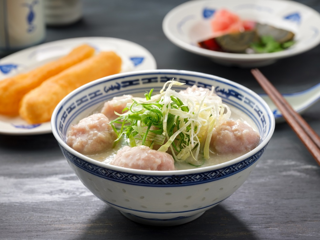 Mui Kee - Homemade Pork Meatball Congee