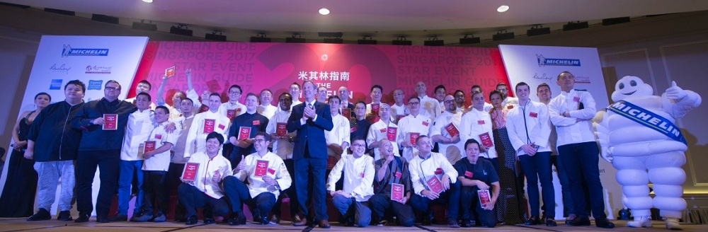 Michelin awards stars to 38 restaurants in Singapore, including 12 new stars