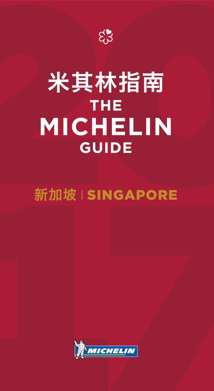 MICHELIN guide Singapore 2017 cover