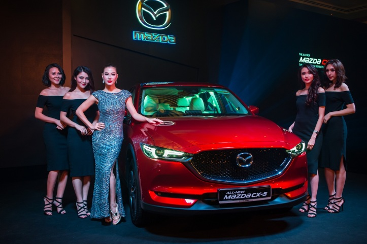 Presenting the All-New Mazda CX-5