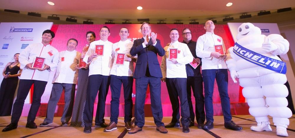 Representatives of Michelin 2-starred restaurants in the 2017 guide