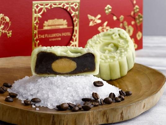 1Kopi wit Salted Hokkaido Milk Snow Skin Mooncakes