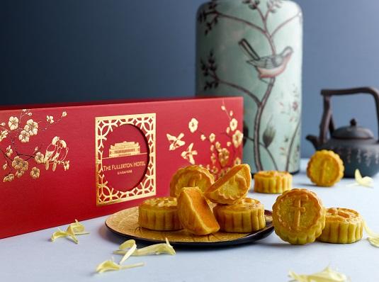 1The Fullerton Golden Custard Mini Mooncakes