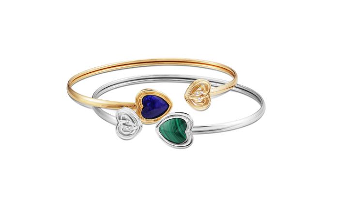 Malachite Passion and L.Lazuli Radiance Bangles (1)
