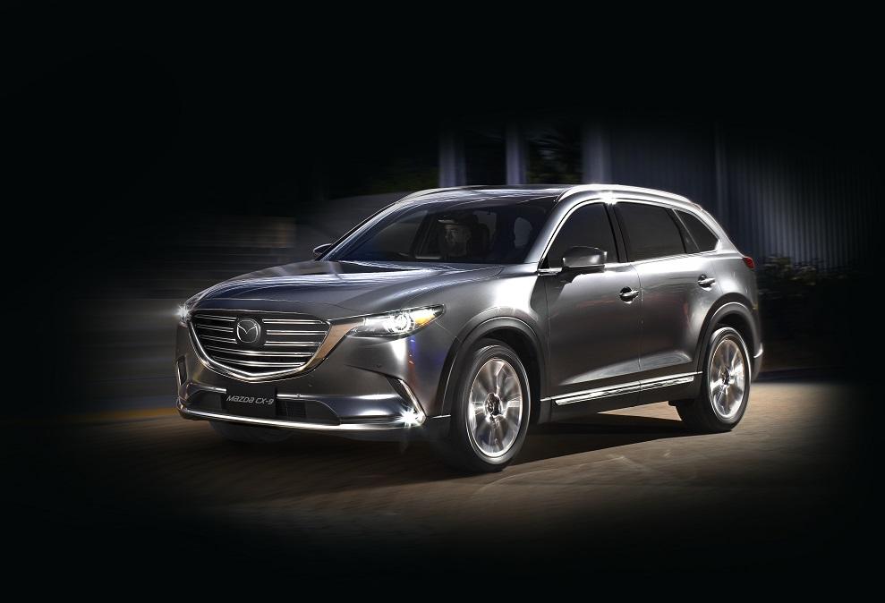 1The all-new Mazda CX-9 exterior (1)