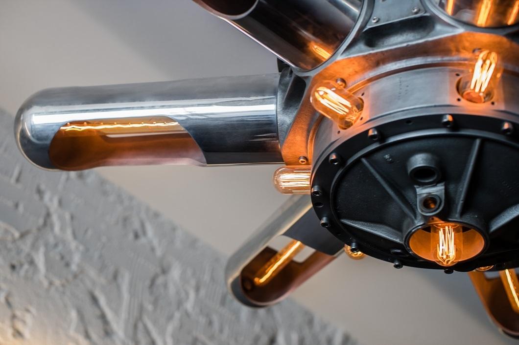 Blackwattle Aircraft Chandelier
