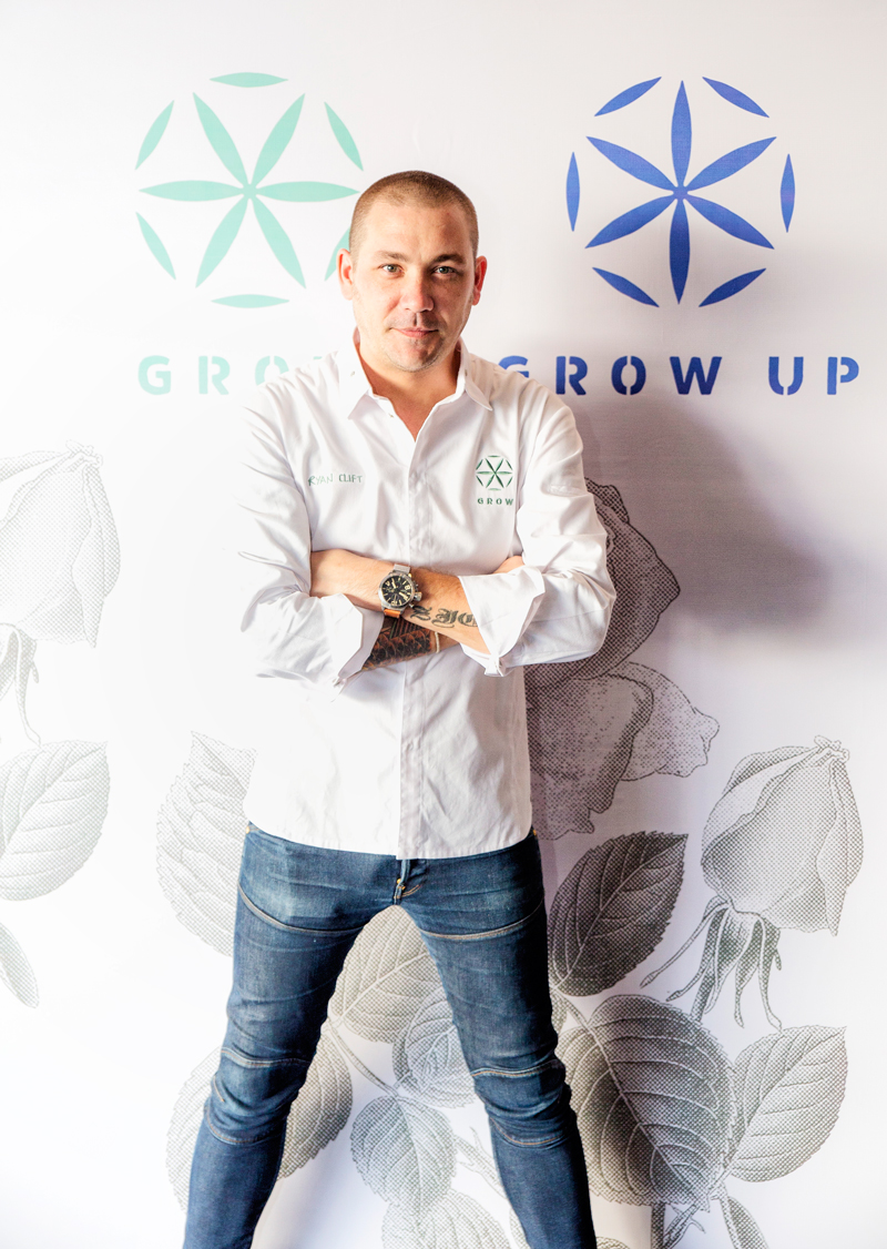 GROW Bali Chef Ryan Clift