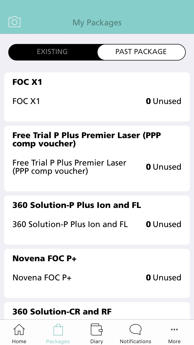 NOVU App - Packages 1