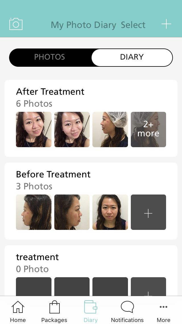 NOVU App - Skin Diary