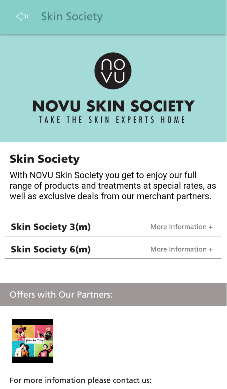 NOVU App - Skin Society