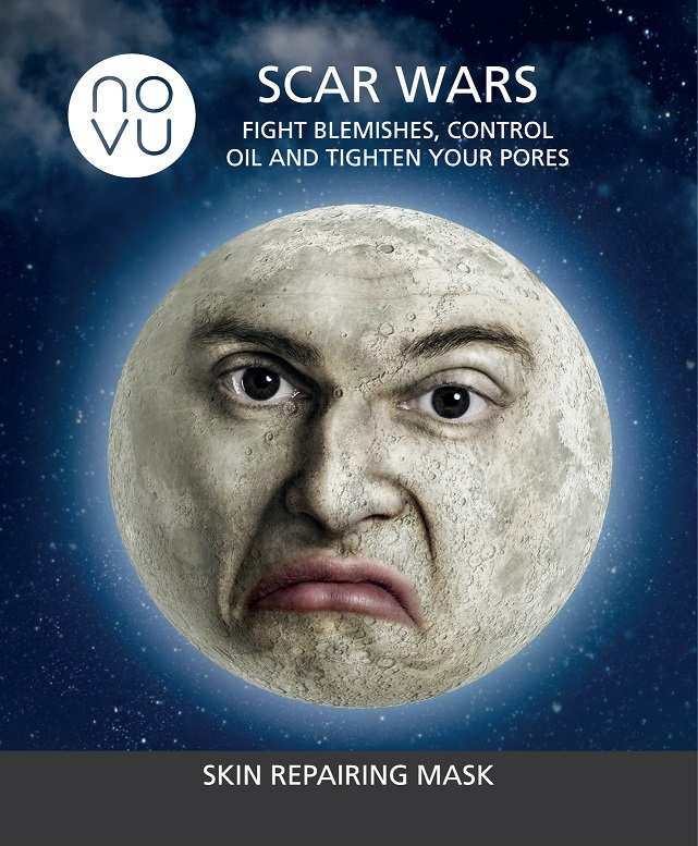 Scars Mask Moon Mask