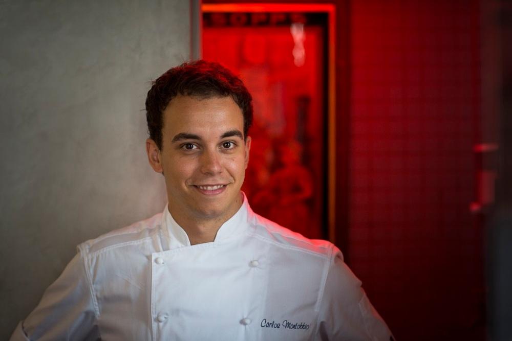 Head Chef Carlos Montobbio of ESQUINA