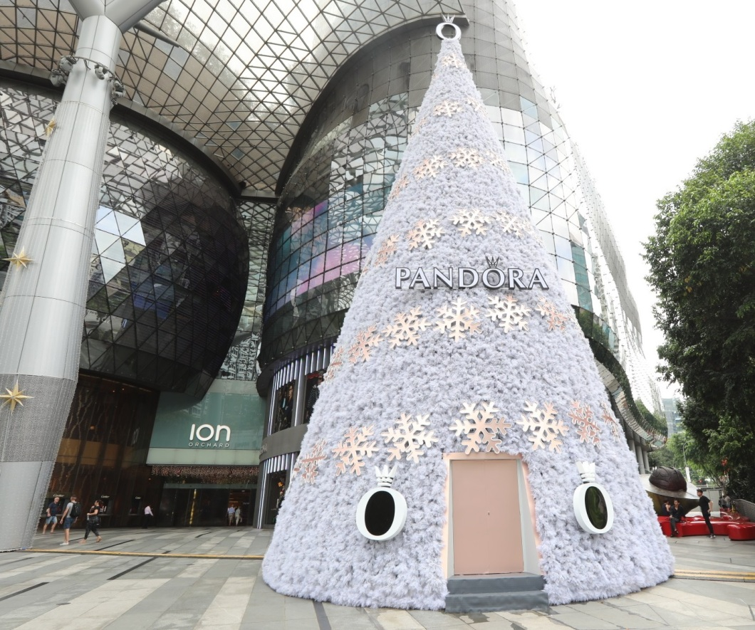 ION Orchard Christmas Tree 2017 decorated by PANDORA - 1