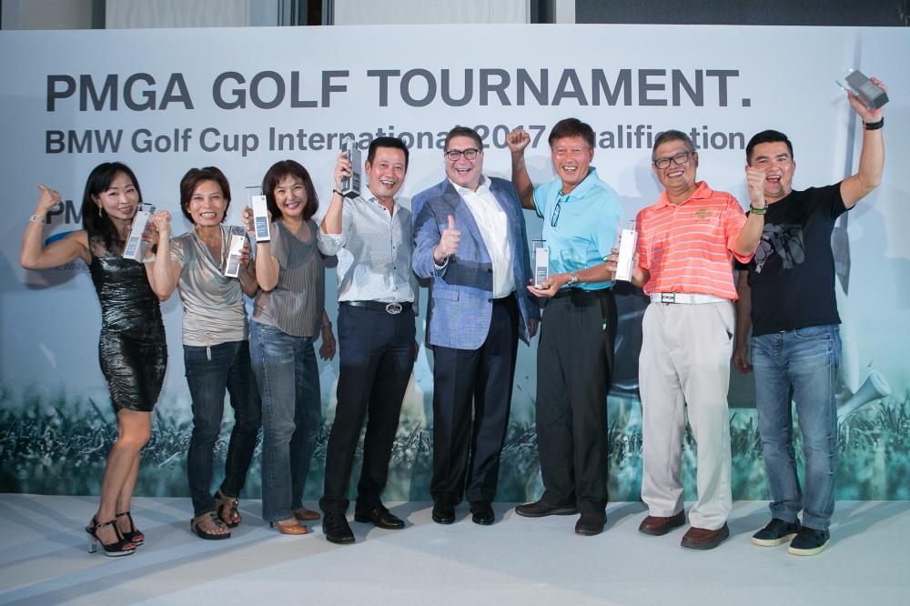 PMGA Golf Tournament 2017 - Winners