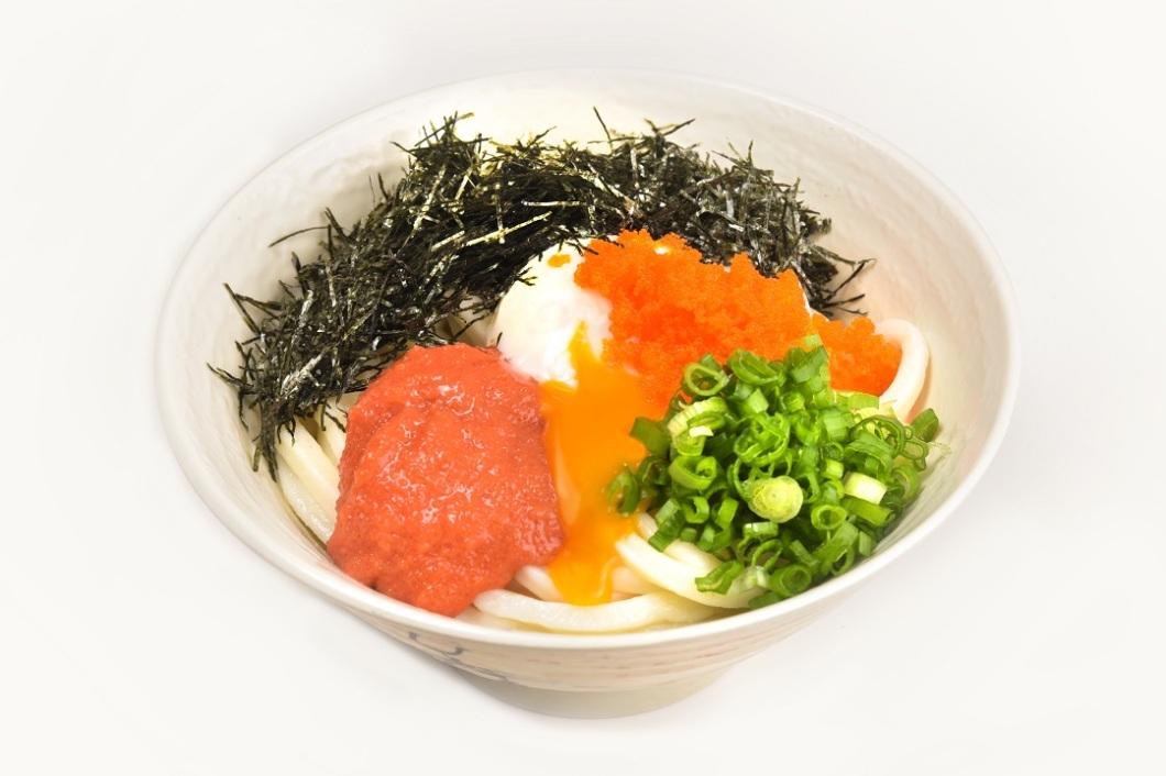 Triple Egg Udon ($9.80)