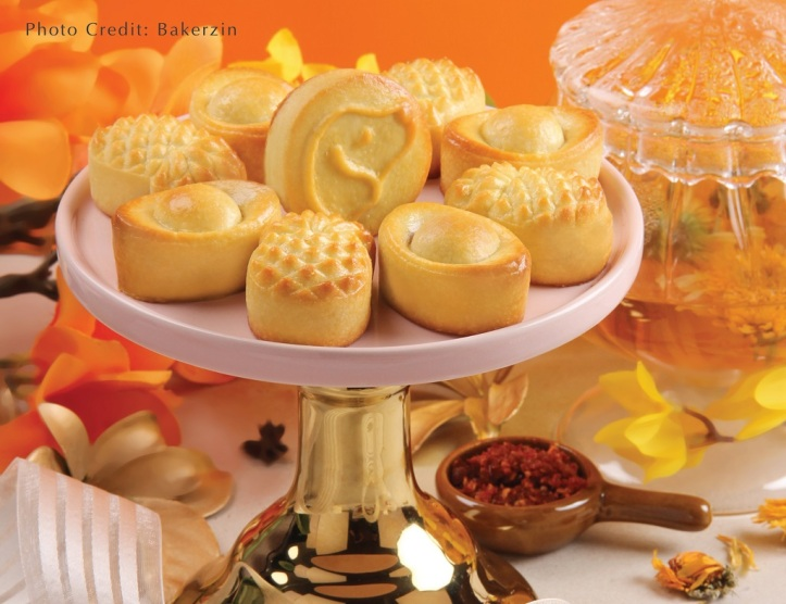 Bakerzin Assorted Pineapple Tarts