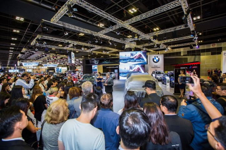BMW at Singapore Motorshow 2018 - The all-new BMW X3 Launch