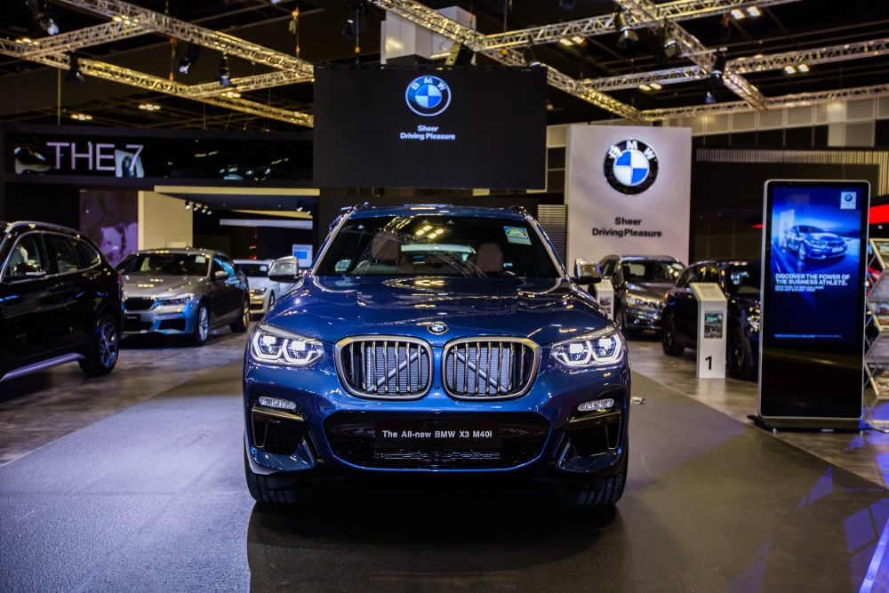 BMW at Singapore Motorshow 2018 - The all-new BMW X3 M40i M Performance
