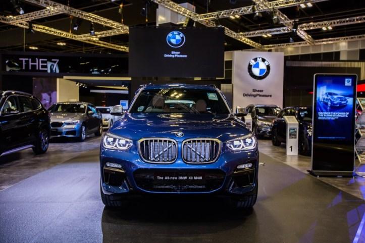 BMW at Singapore Motorshow 2018 - The all-new BMW X3 M40i M Performance