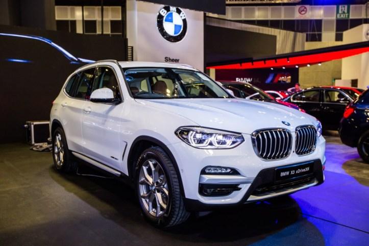 BMW at Singapore Motorshow 2018 - The all-new BMW X3 xDrive30i xLine