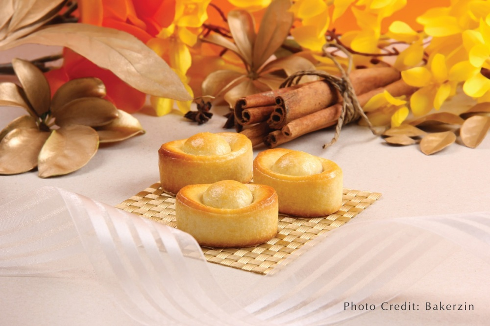 Golden Ingot Original Pineapple Tarts