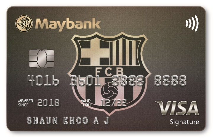 Maybank and FC Barcelona Launch Co-brand Credit Card