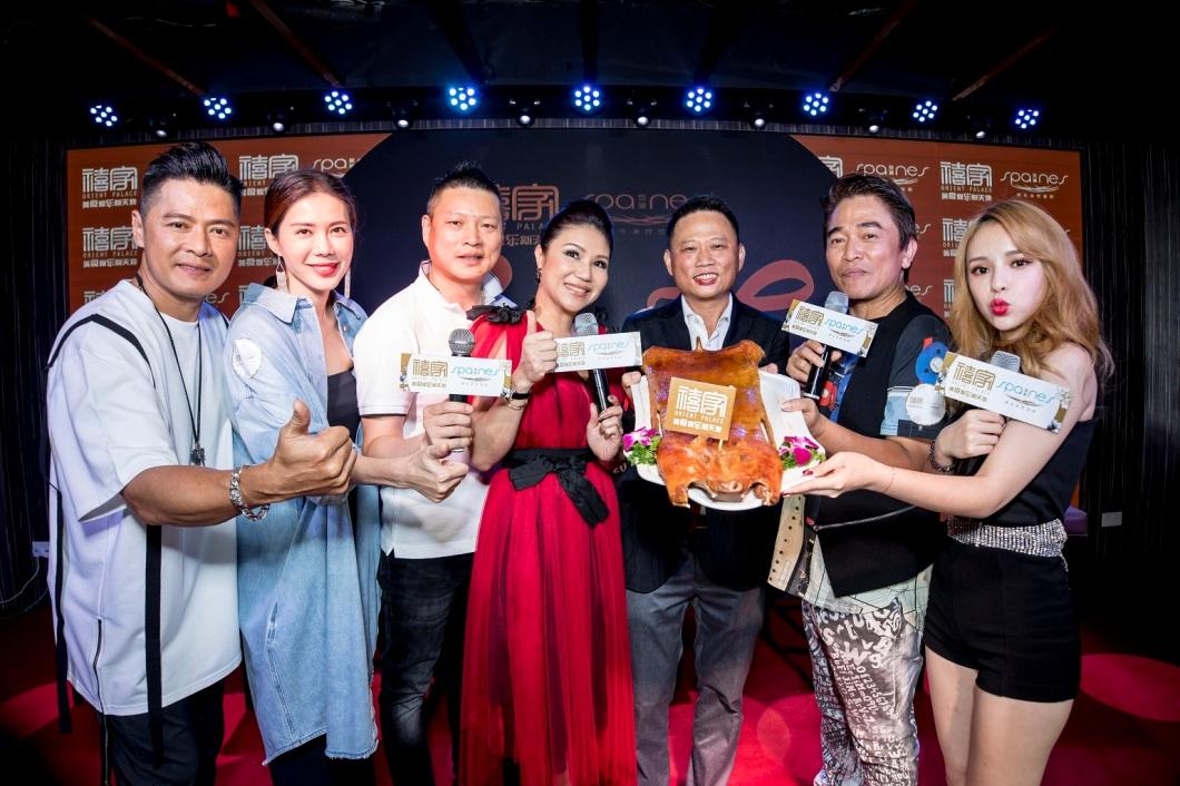 Li Nanxing (李南星), Constance Song (宋怡霏), Chef Fei, Wendy Ho, Jason Lee, Jacky Wu (吴宗宪) and Candy Chen (陈斯亚)