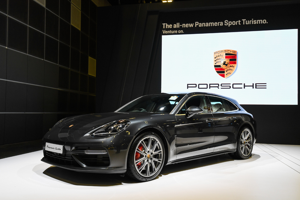 The porsche panamera turbo sport turismo unveiled at the singapore based on the success of the panamera range the panamera sport turismo enters the luxury segment with its unmistakable design and increased performance publicscrutiny Choice Image