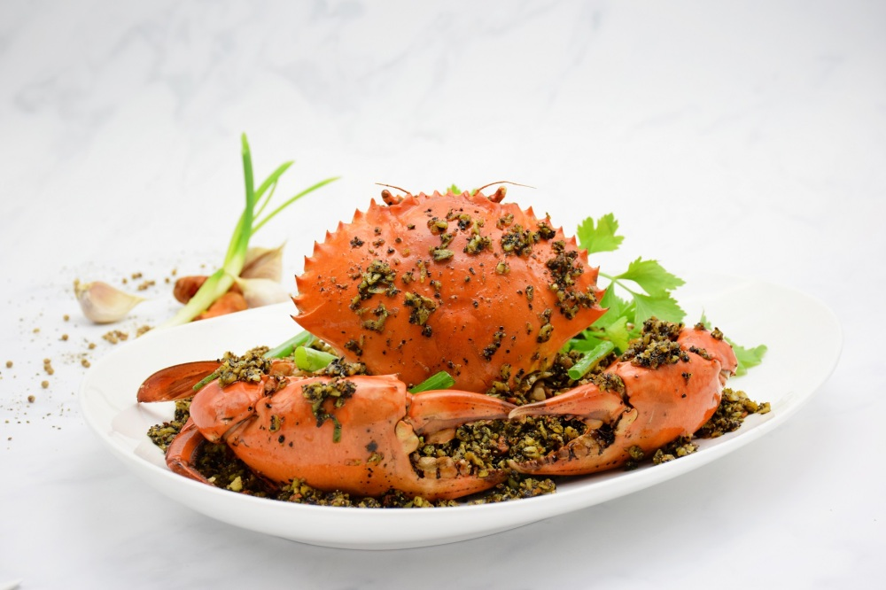 Punggol Black & White Pepper Crab