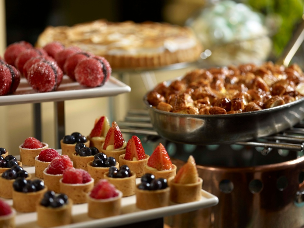 One-Ninety Restaurant - Desserts Spread