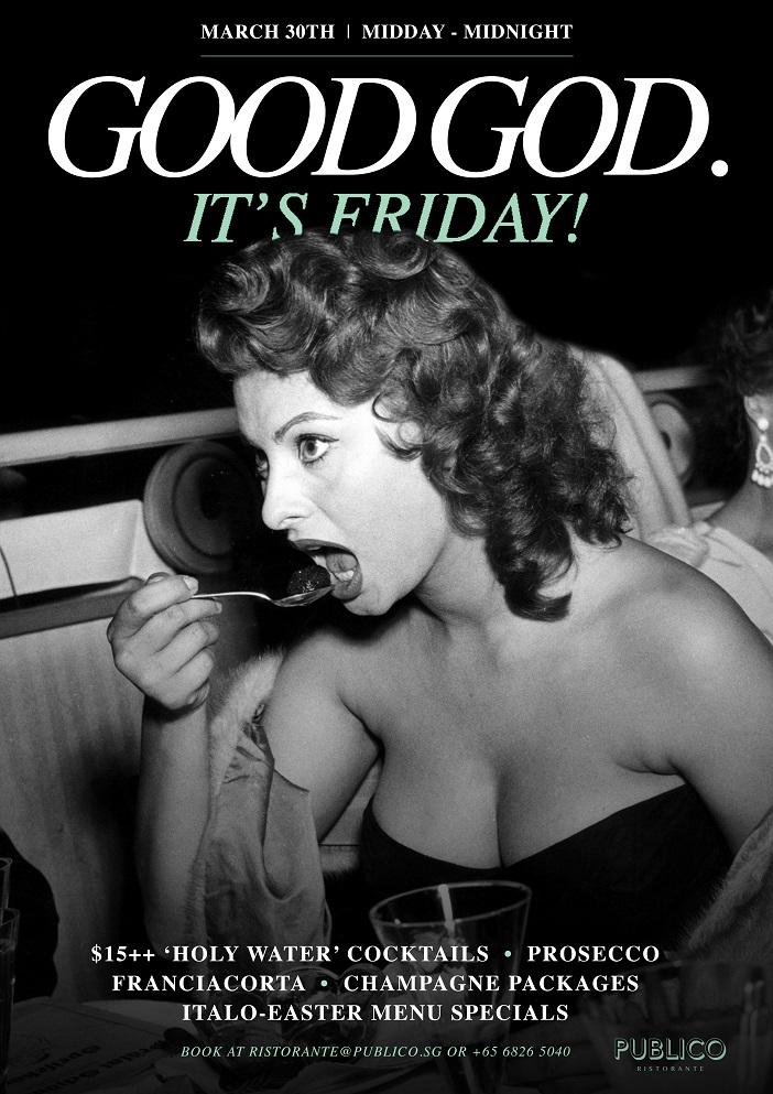 Publico Ristorante - Good God It's Friday