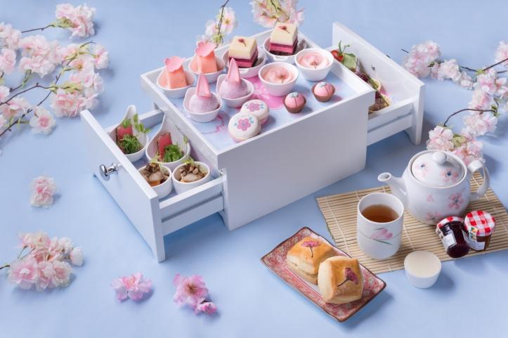 Up & Above Bar_Sakura Afternoon Tea 2018_1