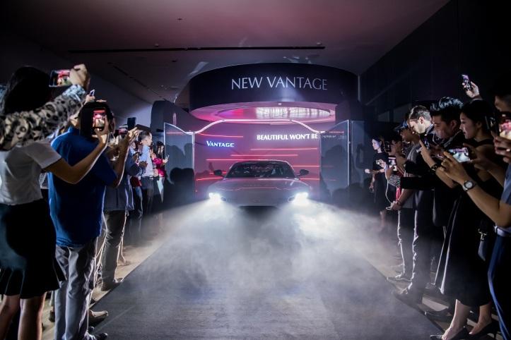 Aston Martin New Vantage makes Singapore Debut