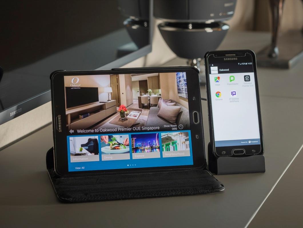 In-Room Tablet and Mobile -  Oakwood Premier OUE Singapore App.jpg