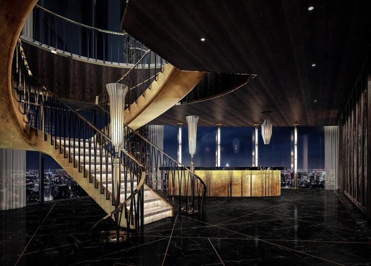 Waldorf Astoria Bangkok_L55_Stair