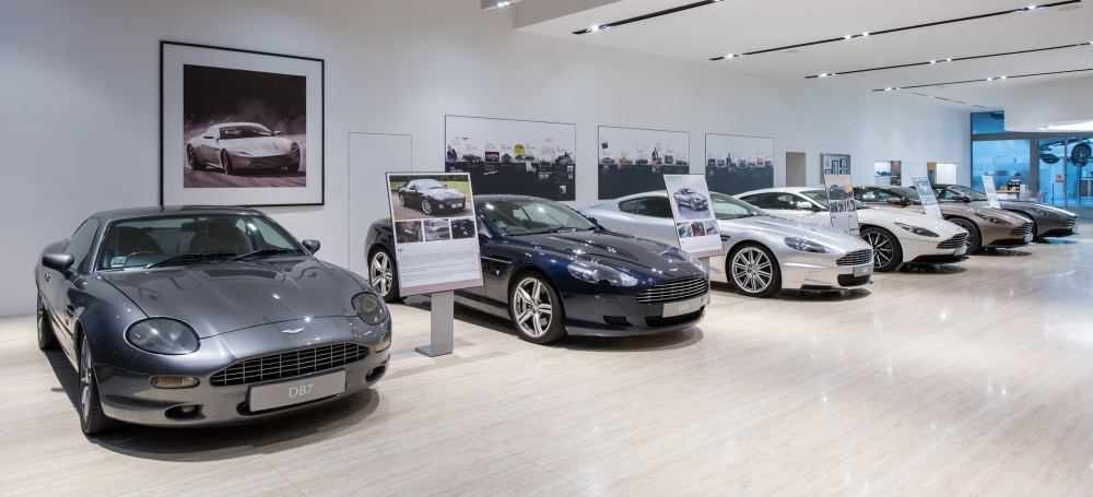 Aston Martin line up