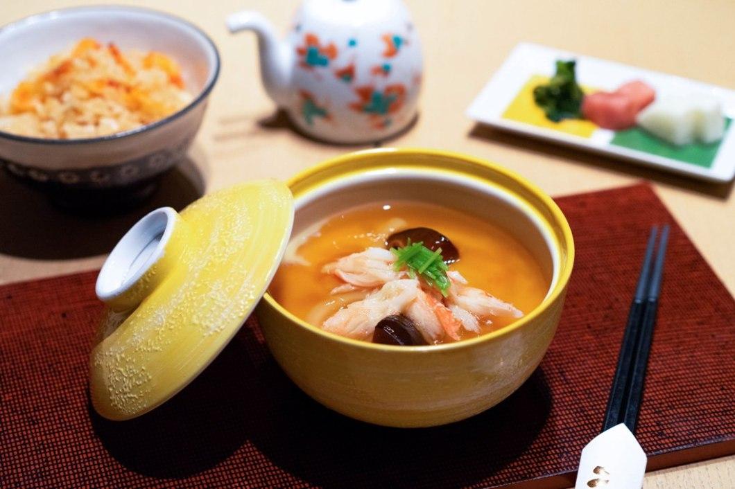 Dashi_Savoury Custard with udon