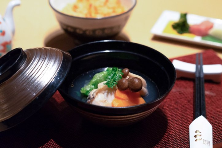 Dashi_Soup with Hamaguri Clam