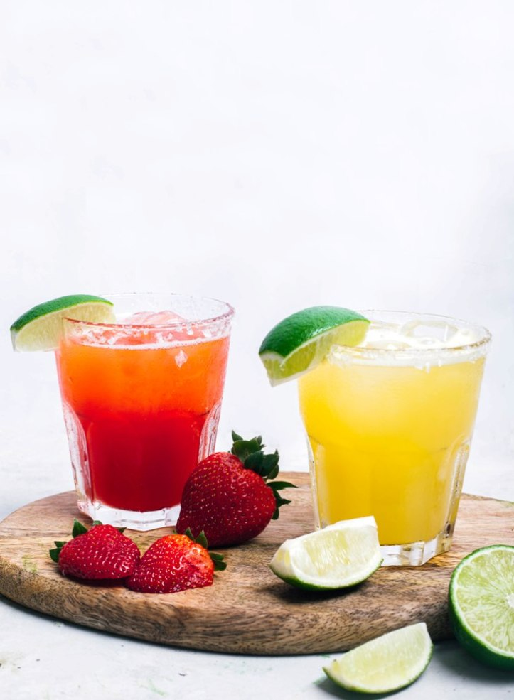 Papi_s Tacos - Strawberry _ Pineapple Shaken Margaritas