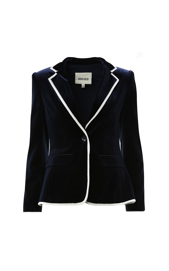 B18W14080_Velvet tux-inspired jacket with contrast piping_SGD685.jpg