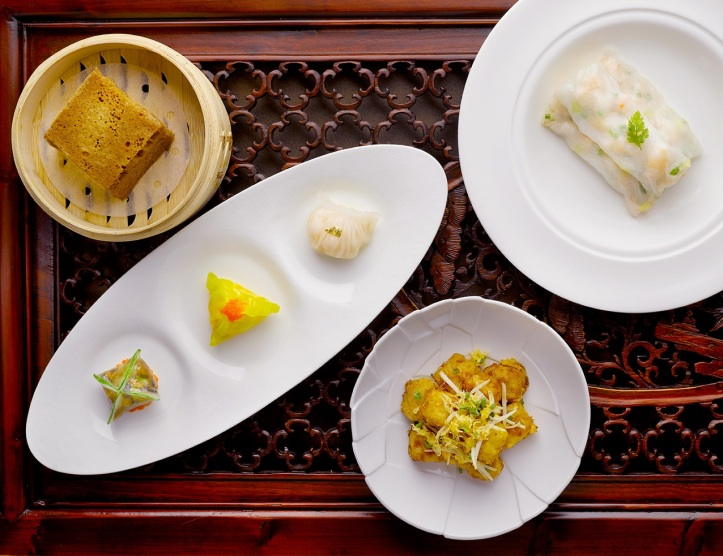 Four Seasons Platter and Dim Sum Selection