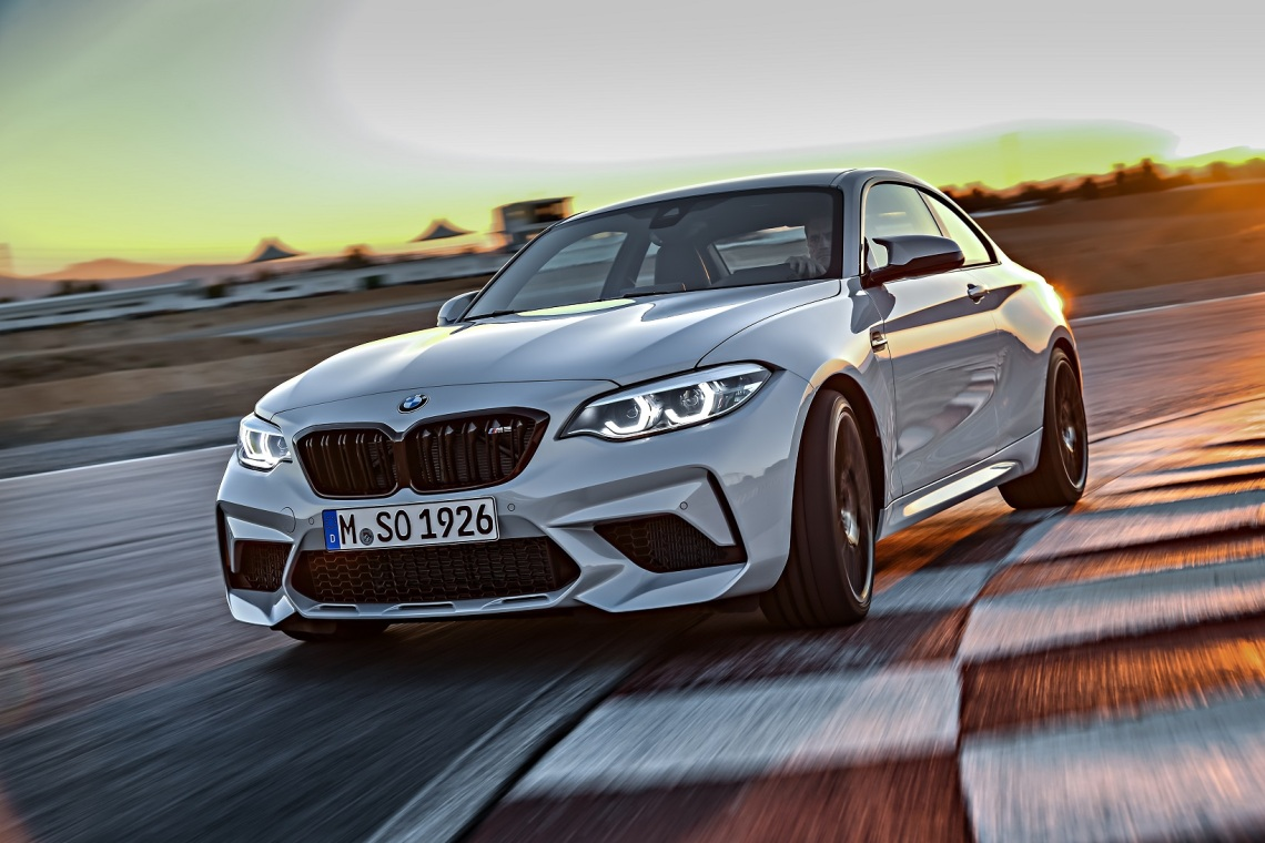 New BMW M2 Competition A