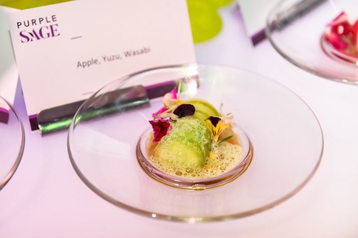 Apple, Yuzu, Wasabi