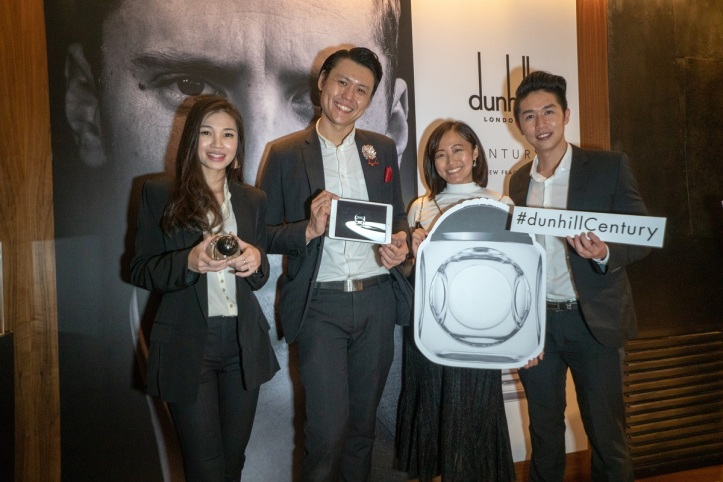 Launch of dunhill CENTURY